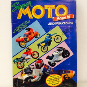 - Album Super Moto 1990 Figurine Cartonate COMPLETO