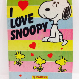 - Album Figurine Panini I Love Snoopy 1990