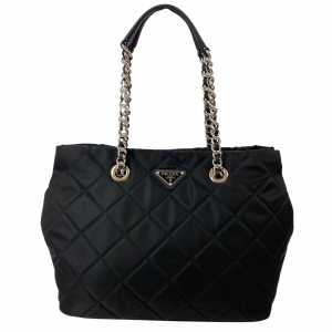 PRADA BORSA IN NYLON NERO