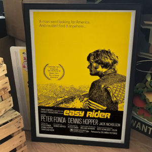 - FRAMED CULT CLASSIC MOVIE POSTER - Easy Rider (Columbia, 1969)