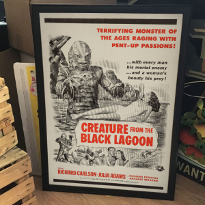- FRAMED SCI-FI MOVIE POSTER - Creature from the Black Lagoon (Universal International, 1954)
