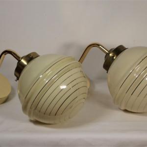 - Coppa d lampade da parete / Midcentury