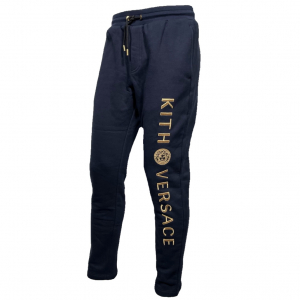 - VERSACE X KITH SWEATPANT BLUE NAVY, S