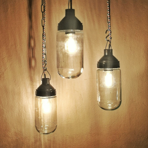 - Lampada industriale vintage