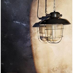 - Lanterna industriale vintage