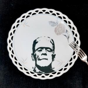 - Piattino da Dolce Vintage Frankenstein