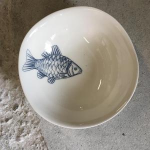 - Piatto Fondo - Decoro Pesce