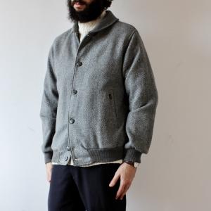 - Men's Grey Herringbone Jacket