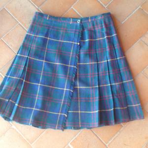 - Gonna scozzese a portafoglio Tg.46