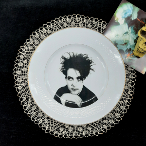 - Piattino Dessert vintage Robert Smith the Cure