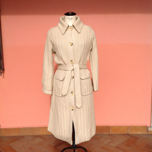 - Cappotto in lana vintage tg42