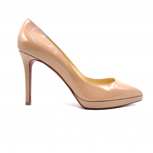 - CHRISTIAN LOUBOUTIN PIGALLE PLATO COLOR NUDE, 38