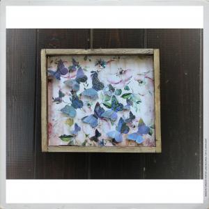 - BUTTERFLIES & FLOWERS I