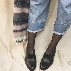 - Scarpa vintage in vero cuoio