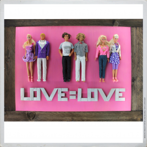 - LOVE = LOVE