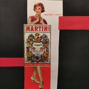 MARTINI ROSSO 1960
