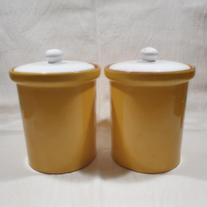 - BISCUIT JARS,