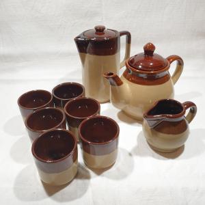 - THE & CAFFE SET da 6 con TEIERA, BRICCO LATTE , CAFFETTIERA