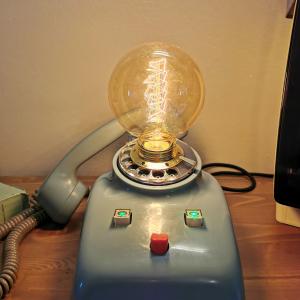 Telefono centralino Lampada SIP anni 60