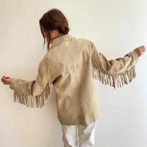 - Western Fringes Jacket