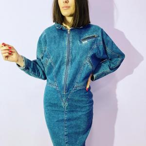- abito vintage in denim