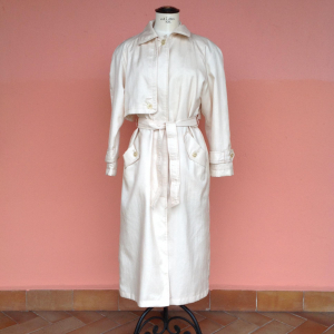 - Impermeabile /trench color panna 42/44