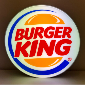 - Insegna Luminosa Burger King 65 cm