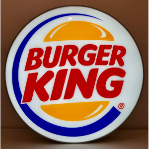 - Insegna Luminosa Burger King 100 cm