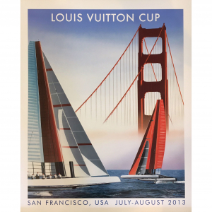 - Manifesto Pubblicitario Louis Vuitton San Francisco (Razzia)