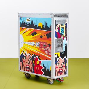 - Carrello aereo - Custom Pop Art