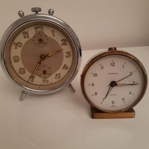 VINTAGE anni 60 - Orologio sveglia da viaggio/tavolo WEHRLE