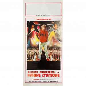 - Locandina di Cinema Originale d'Epoca - Febbre d'amore anno 1985