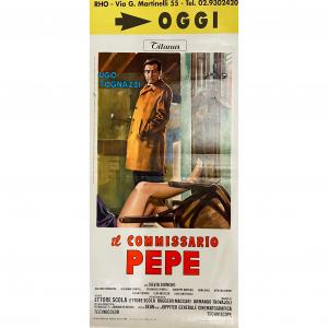 - Locandina di Cinema Originale d'Epoca - Il Commissario Pepe anno 1969