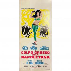 - Locandina di Cinema Originale d'Epoca - Colpo grosso alla Napoletana anno 1968