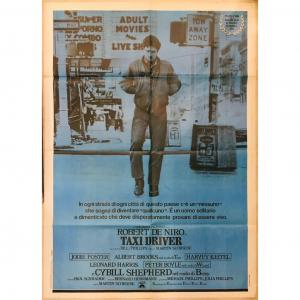 - 2 Fogli di Cinema originale d'epoca - Taxi Driver