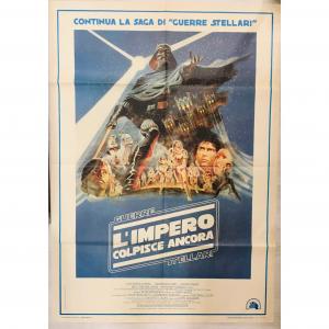 - 2 Fogli di Cinema originale d'epoca Guerre Stellari - L'impero colpisce ancora