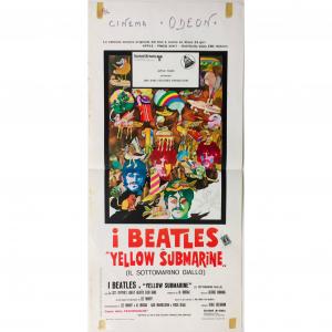 - Locandina di Cinema originale d'epoca - I Beatles