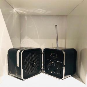 Radio Brionvega TS 502 Prima Serie (Nera)