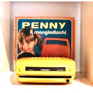 Mangiadischi Penny Musicalnastro anni '70 (Giallo)