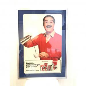 Stampa pubblicitaria Caffè Lavazza (Nino Manfredi)