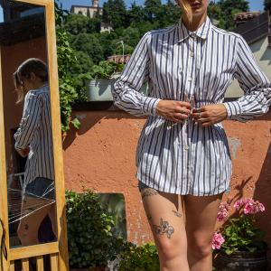 - SportMax Stripe Shirt