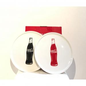 - Set 10 piatti Coca Cola
