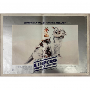 - Fotobusta di cinema originale d'epoca Guerre Stellari - L'impero colpisce ancora