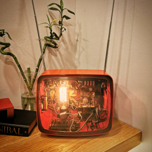 - Televisore Lampada Grundig 1975