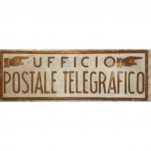- Insegna Ufficio postale telegrafico