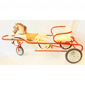 - Carrozza giocattolo per bambini anni '60