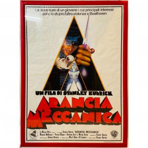 - Manifesto di cinema d'epoca - Arancia Meccanica