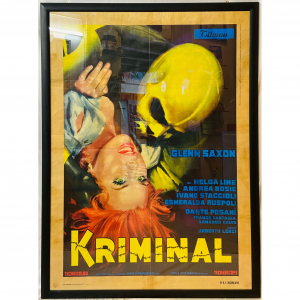 - Manifesto di cinema d'epoca - Kriminal