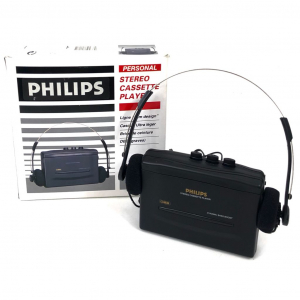 - Walkman Personal Stereo Cassette Player Philips + Cuffie