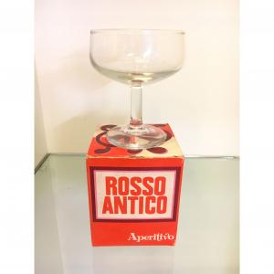 - Bicchiere Rosso Antico anni '50/'60
